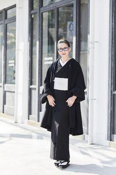MIMA 女優コートフェアのご案内<終了しました> | KAPUKI Yukata Kimono, Kimono Japan, Kimono Fabric, Kimono Dress, Traditional Japanese Kimono, Modern Kimono, Beautiful Outfits, Beautiful Clothes, Just Dream