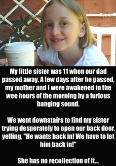Creepy things kid say!