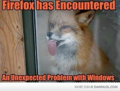 Firefox has an unexpected problem...