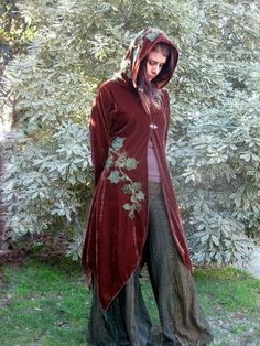 Forest Coat from Leaf Creations