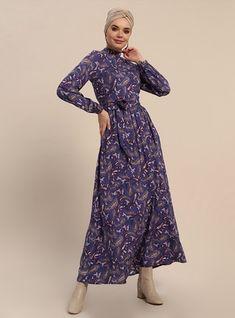 7758ed5106f1 Hijab Dresses & Long Dresses   Modanisa   Modanisa in 2019   Dresses, Hijab  dress, Hijab fashion
