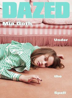 AUTUMN/WINTER 2015: Mia Goth shot by Ben Toms, styled by Robbie Spencer in Miu Miu. See more: http://www.dazeddigital.com/artsandculture/article/26245/1/autumn-winter-2015