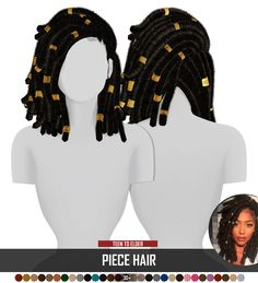 Coupure Electrique: Piece hair for Sims 4 Sims Four, The Sims 4 Pc, Sims 4 Mm, Sims 4 Body Mods, Sims 4 Game Mods, Sims 4 Cc Kids Clothing, Sims 4 Mods Clothes, Sims 4 Curly Hair, Afro Hair Sims 4 Cc