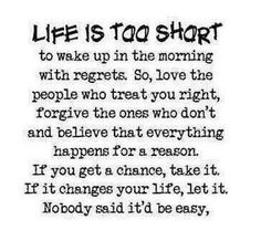 Life Is Too Short Quotes and Sayings | Quotes and Sayings