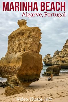 praia da marinha beach algarve portugal photos video access info