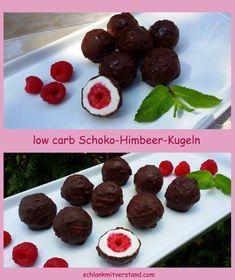 Schoko-Himbeer-Kugeln low carb ganz einfach selbstgemacht... #Foodporn #yummy
