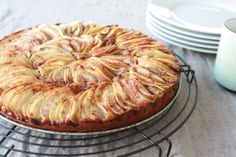 Apple Pie (recipe in German - tell me if you need it translated into English :)