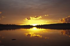 The sunset on Lake Temagami on May Sunrises, Beautiful Sunset, Landscape Photos, Mother Nature, Landscapes, Water, Outdoor, Life, Paisajes
