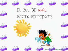 DITES DE MESOS i ESTACIONS Valencia, Album, Pre School, Murals, Classroom Setup, Creative Writing, Sayings, Wall Paintings, Mural Painting