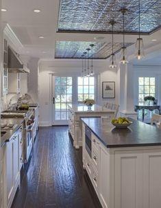 Love the ceiling  @  Home Decor Ideas