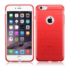 MYBAT iPhone 6 Plus(5.5) Case SPOTS Candy Skin - Red