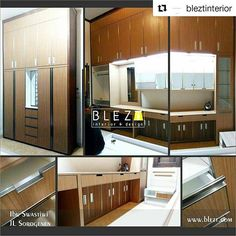 #Repost @bleztinterior (@get_repost)  ・・・  .  Whatsapp B.L.E.Z.T :   081 660 6879 ☺ .  .  #interiorjogja #kitchensetjogja   #interior #jasainterior  #design #hpl #rumah #jogja #perumahan