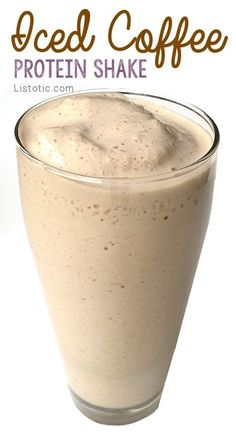 awesome Iced Coffee Protein Shake Recipe to lose weight