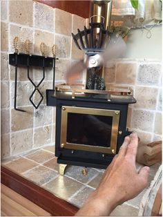 Best RV Renovations Ideas To Prepare This Winter Season. If you've got an RV, there are a lot of explanations for why you may be interested in used RV furniture for sale. Rv Wood Stove, Mini Wood Stove, Tiny House Wood Stove, Wood Stoves, Into The Woods, Mini Camper, Camper Van, Motorhome, Small Wood Burning Stove
