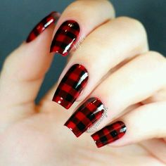 Buffalo plaid adorable!