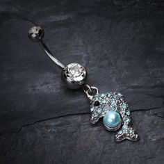 #BM25.com                 #ring                     #Sparkling #Dolphin #Belly #Button #Ring            Sparkling Dolphin Belly Button Ring                                           http://www.seapai.com/product.aspx?PID=1059440