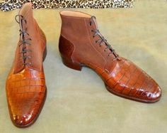 This shoes bring both high quality and great value. It is made of genuine high quality cowhide leather. Upper made with Cowhide Leather. Lining made with Cowhide Leather. Sole made with Cowhide Leather. Ankle Boots Dress, Ankle Boots Men, Dress With Boots, Leather Ankle Boots, Leather Heels, Leather Men, Shoe Boots, Dress Shoes, Soft Leather