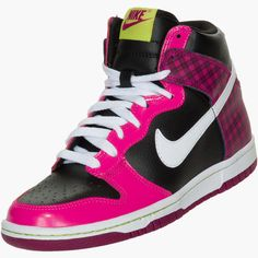 timeless design 5acd1 0335d Girls Gradeschool Nike Dunk High Kids Sneakers, Shoes Sneakers, Nike Dunks,  Girls Shoes