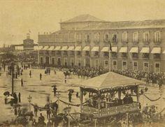 Praça XV, Casamento da princesa Isabel , em 15 de outubro de 1864.