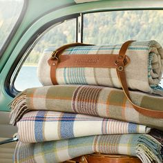 travel in style with Pendleton blankets