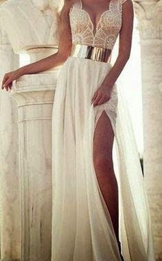 Vestidos longos de renda - Vestido do Dia - Blog de moda