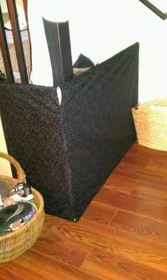 My homemade baby/pet gate for the stairs! PVC and fabric. Baby Gate For Stairs, Baby Gates, Crawling Baby, Pet Gate, Thirty One Gifts, Homemade Baby, Baby Fever, Playroom, Gate Ideas