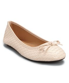 Love this Ositos Shoes Beige Woven Ballet Flat by Ositos Shoes on #zulily! #zulilyfinds