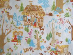 Hansel and Gretel Fabric