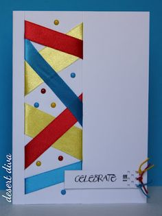How fun!!!  What a great way to use up ribbon scraps!