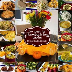 20+  Thanksgiving Side Dishes! #thanksgiving #recipes