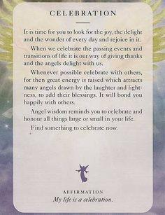 angel, celebration, and angel card image