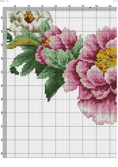 1234 Cross Stitch Boards, Cross Stitch Rose, Cross Stitch Flowers, Cross Stitching, Cross Stitch Embroidery, Cross Stitch Patterns, Knitting Patterns, Ancient Egyptian Art, Ribbon Work