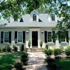 Black Front Door Design Ideas, Pictures, Remodel, and Decor - page 15
