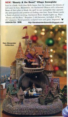Dan Alexander Dizmentia: Walt Disney World's New Fantasyland (In Snow Globe Form)