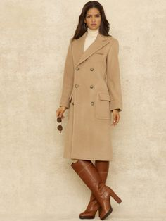 d68615c3e0451 Lady Polo Coat - Blue Label Outerwear guess Im gearing up for