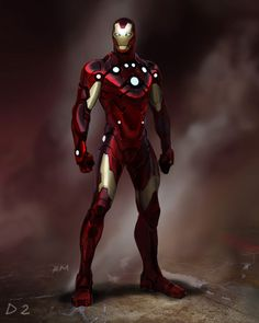 Liking the new type of iron man armor!
