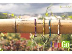 Brazalete de mostacillas a colores Handmade Bracelets, Beaded Bracelets, Artisan, Stuff To Buy, Style, Bracelet, Colors, Swag, Pearl Bracelets
