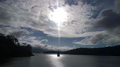 La foto del día en la represa