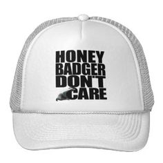 awesome Badass Gifts and Gift Ideas Funny Hats, Honey Badger, Popular Colors, Badass, Personalized Gifts, Hot Pink, Baseball Hats, Pretty, Pink