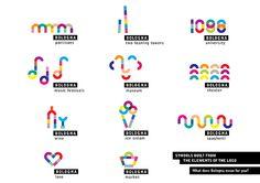 Logo and payoff concept for Bologna city branding by Anna Kőfaragó, via Behance City Branding, Event Branding, Logo Branding, Event Logo, Brand Identity Design, Corporate Design, Branding Design, Logos, Typography Logo
