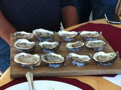 #Oysters from Nine Mile Creek! #PEIShellfish - Picture Perfect!
