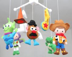 Bebé cuna - Toy Story - guardería juguete historia móvil - Woody 77f9f129235