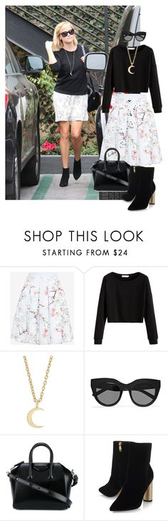 """""""Reese"""" by dubaileila ❤ liked on Polyvore featuring Ted Baker, Ileana Makri, Le Specs, Givenchy and KG Kurt Geiger"""