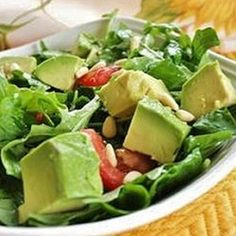 """Easy Arugula Salad 