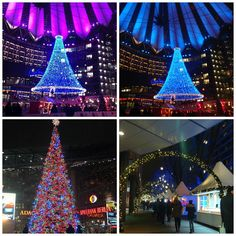 Mercado de Natal na Potsdamer Platz, Berlim