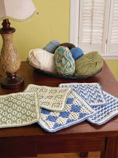 more interlocking crochet - most interesting