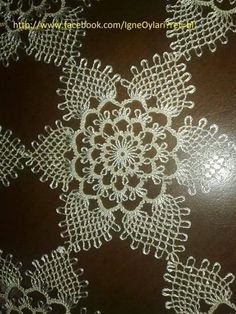 İğne oyası modelleri motif Tatting, Needle Lace, Crochet Diagram, Lace Making, Needle Felting, Pattern, Crafts, Lace, Tricot