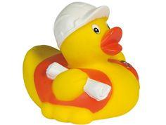 Rubber duck construction worker DR