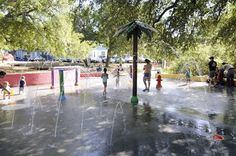 Free Fun in Austin: Splash Pad Feature: Ricky Guerrero Park