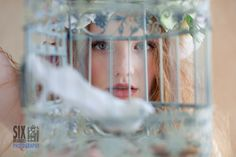 Milly, caged